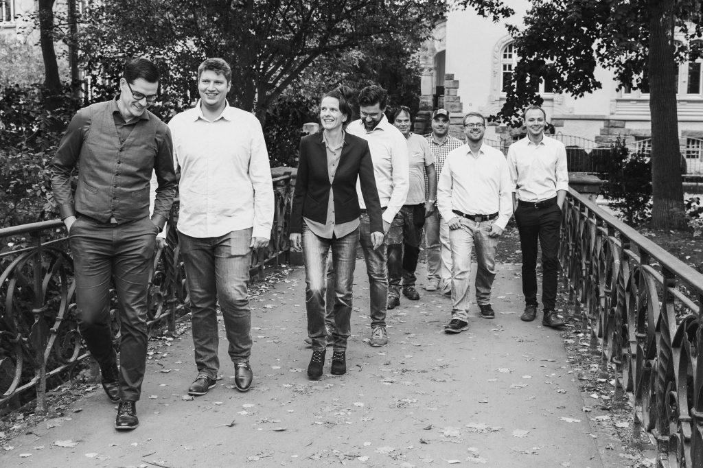 Team von Baugrund JACOBI